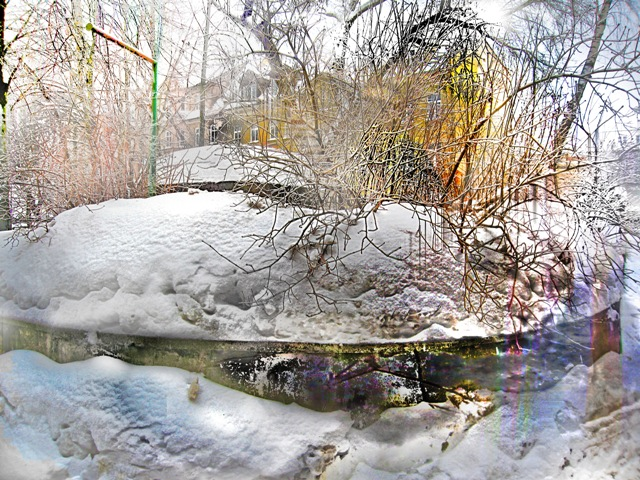 photo painting Inhabite Winter