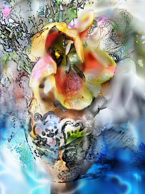 digital painting Metamorfozes 2011 ~Tomas Karkalas