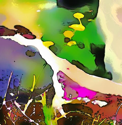 "digital painting ""Once upon a time"" ~ Tomas Karkalas"