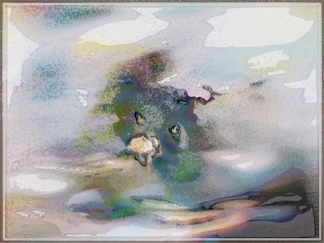"digital painting 'Untitled serenity"" by Tomas Karkalas 2013"