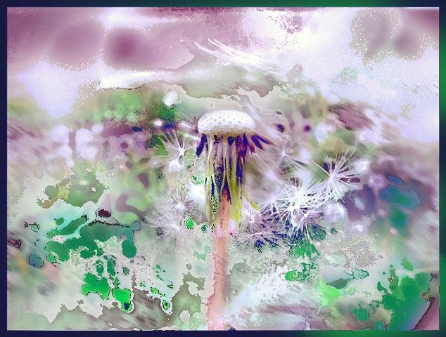 digital painting Scattered Seeds ~ Tomas Karkalas; Klaipeda, Lithuania