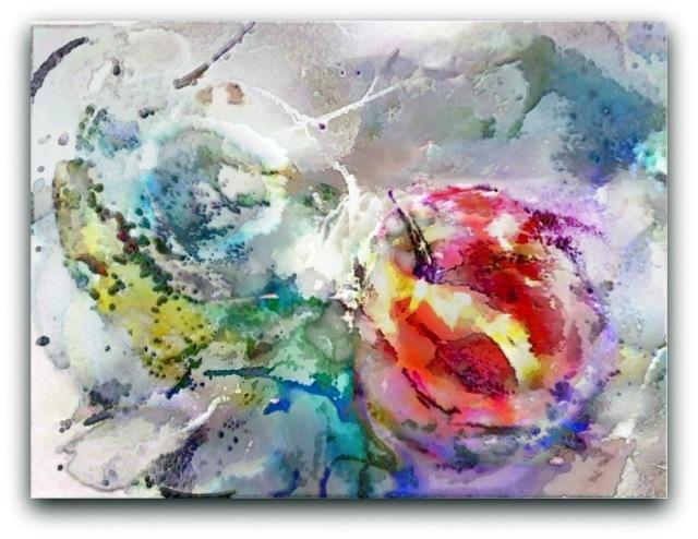 digital painting The Tasty Fall by Tomas Karkalas - Klaipeda, Lithuania