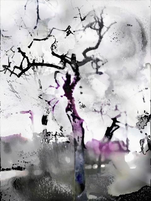 digital painting one-aloner~ 60x45 cm ~ Tomas Karkalas