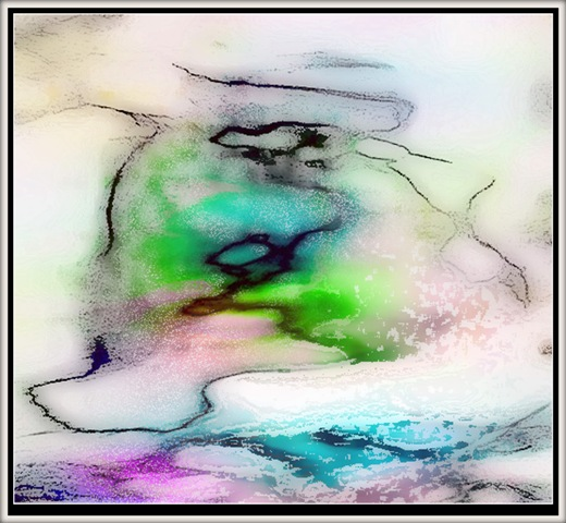 digital painting peace in my mirror ~ Tomas Karkalas