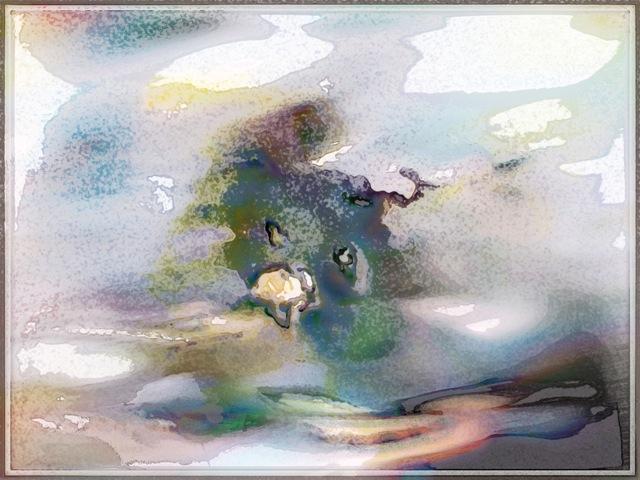 digital painting unnameable serenity ~ 50x66,67 cm ~ Tomas Karkalas ~